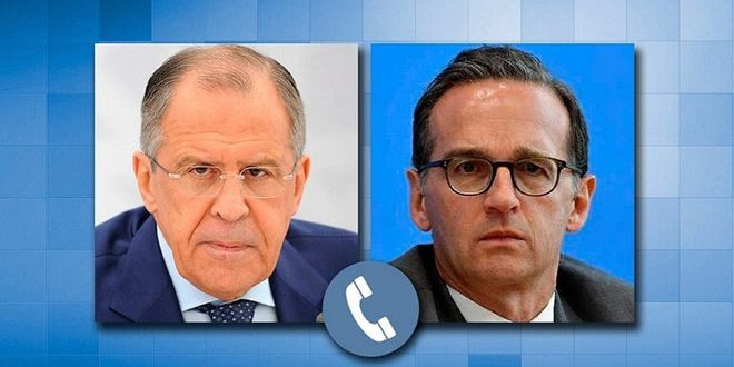 Lavrov discusses with German counterpart coercive economic measures against Syria