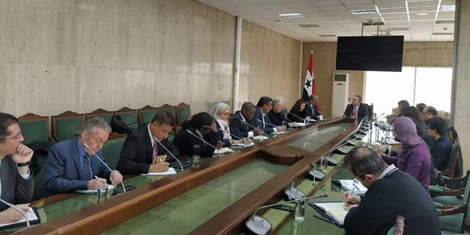 CBS, UN and international organizations operating in Syria discuss cooperation