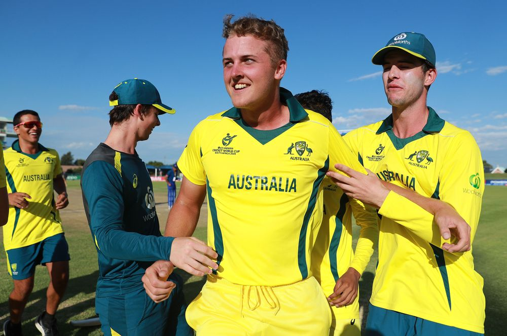 U19 CWC - Australia's Connor Sully steps up to seal incredible victory over England