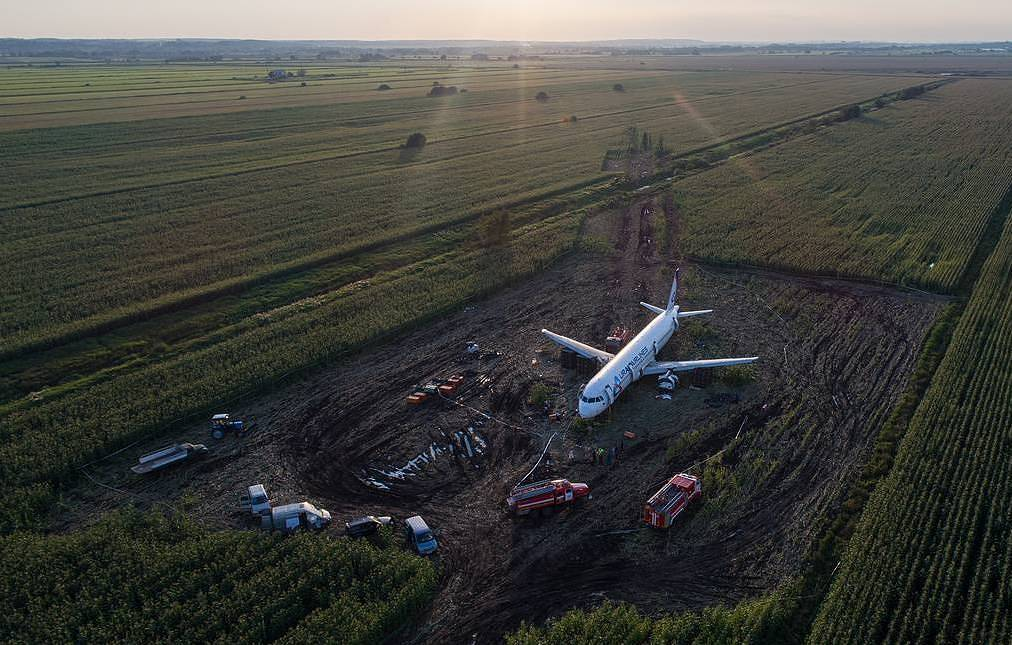 Belly-landed Russian Airbus A321's flight recorders deciphered — IAC source