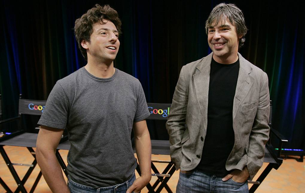 Google co-founders step down from parent company Alphabet
