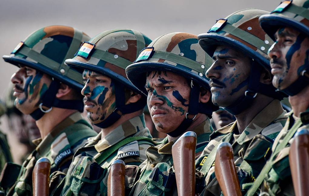 Russia-India kick off joint multi-service force drills Indra-2019