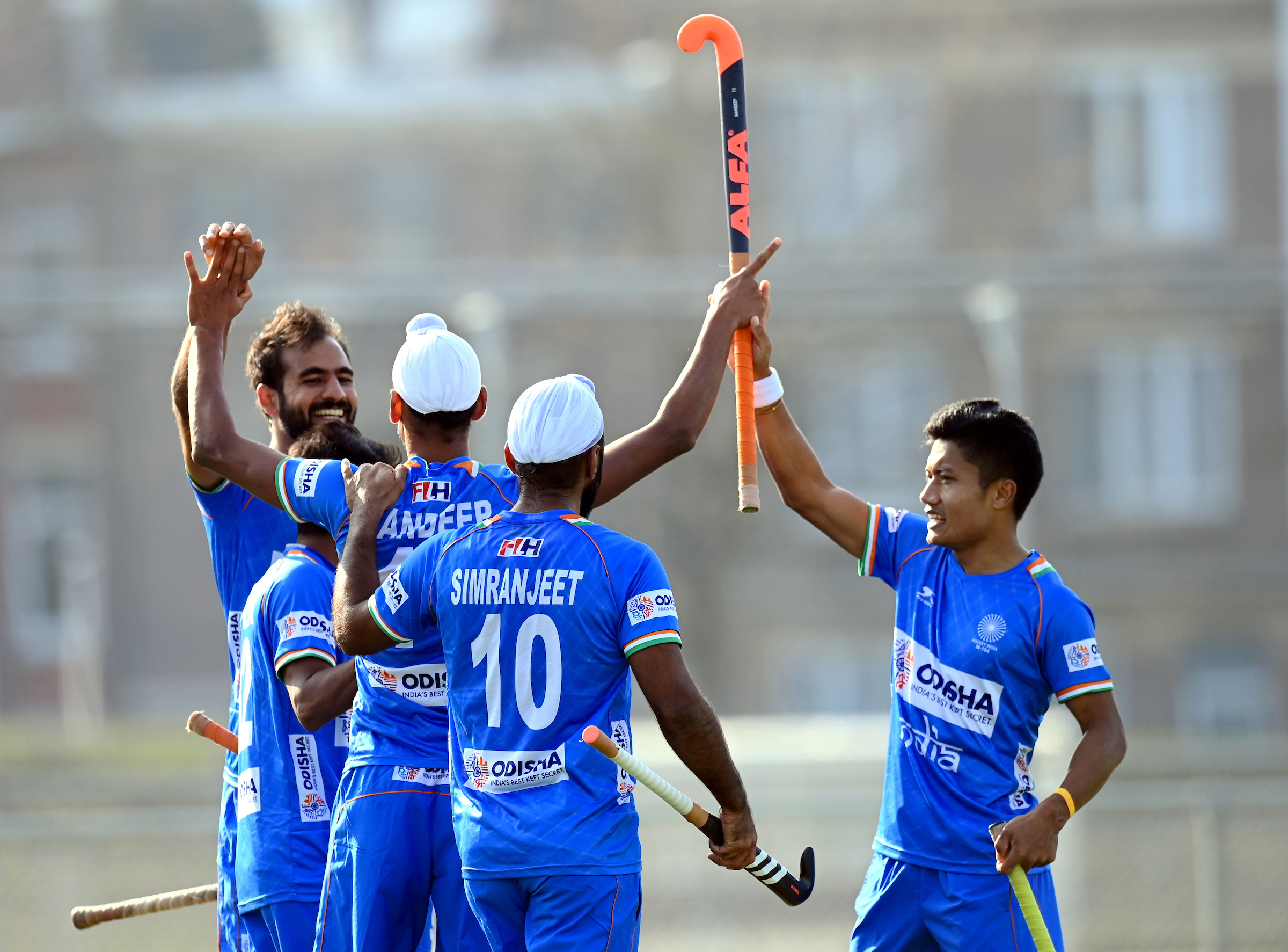 Indian Men's Hockey Team remain undefeated; beat Great Britain 3-2 in last match of the Europe Tour