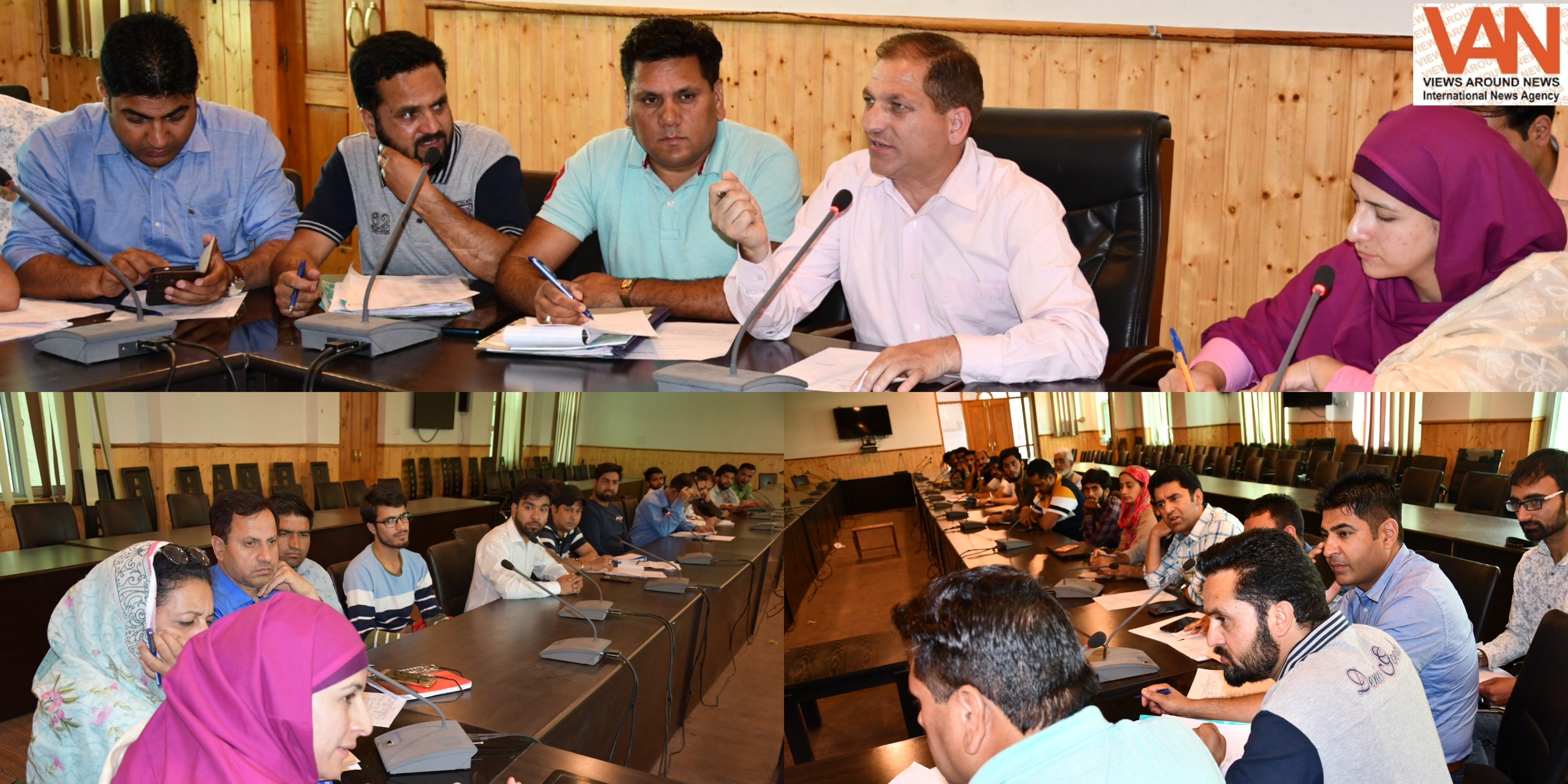ADDC Ganderbal reviews implementation of PM-SYM