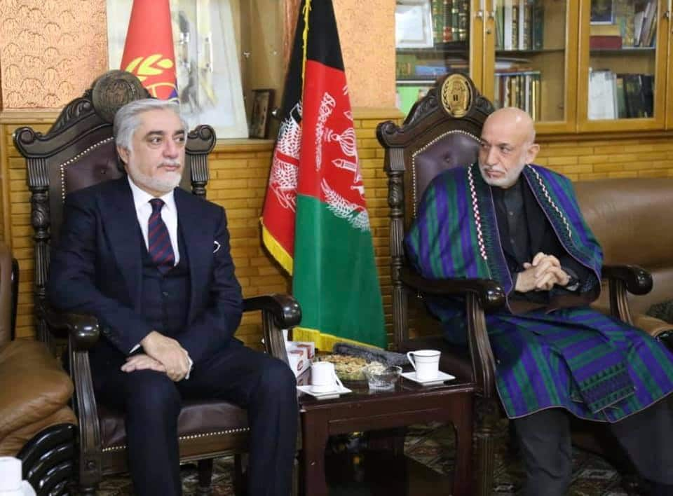 Prominent Afghan politicians endorse peace talks and urge for Intra-afghan talks