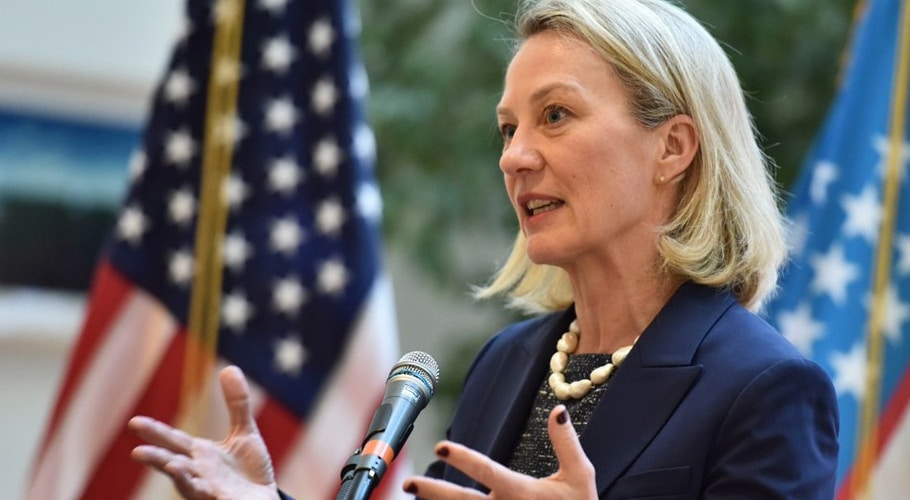 US diplomat Chief Wells visit to Pakistan ahead of Afghan Peace Deal
