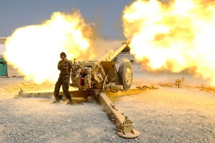 Air and artillery strikes kill 12 militants of the Talibani Red Unit in Afghanistan