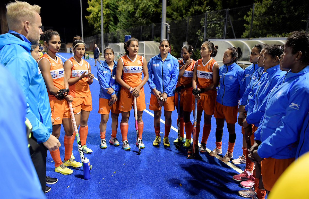 Important to stay in the rhythm - Indian Women's Hockey Chief Coach Sjoerd Marijne