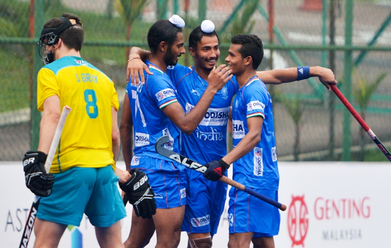 Indian Junior Men's Hockey Team beat Australia 5-1; qualify for Final of the 9th Sultan of Johor Cup