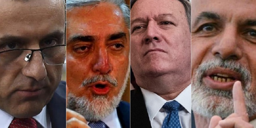 ARG Palace releases details of the video teleconference between Afghan leaders and Pompeo