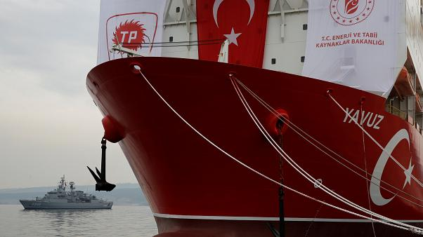 EU sanctions Turkey for drilling off the coast of Cyprus