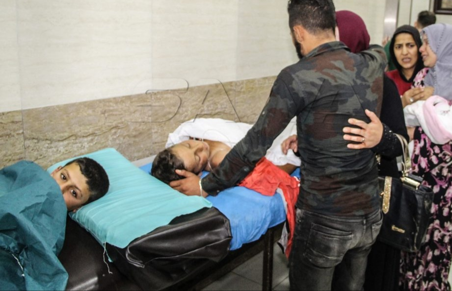 6 martyred & 9 injured in terrorist rocket attack on Aleppo Syria