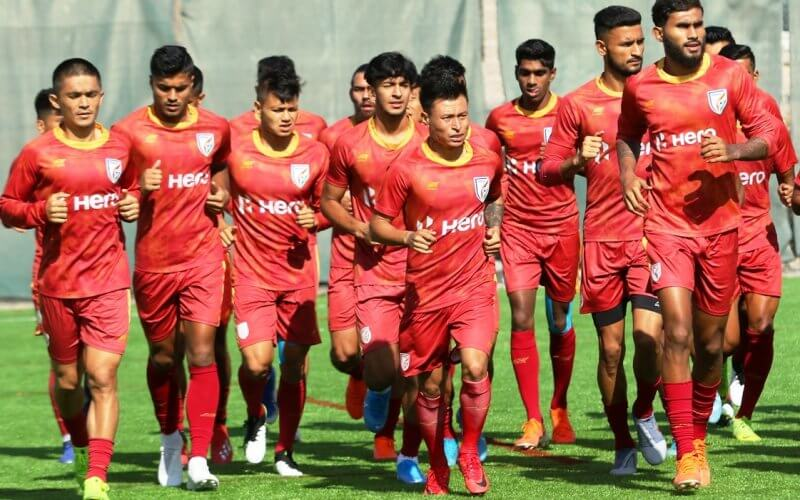 India to play FIFA International Friendly against Tajikistan