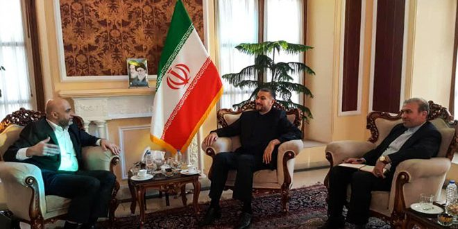 Iran renews support to Syria's sovereignty and territorial integrity