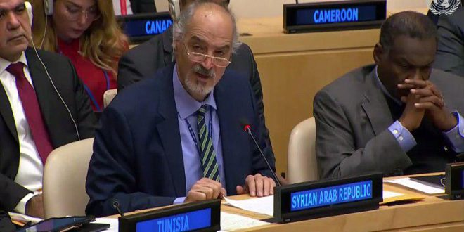 Syria looking forward to a comprehensive treaty for making the Middle East free of nuclear weapons - Al-Jaafari