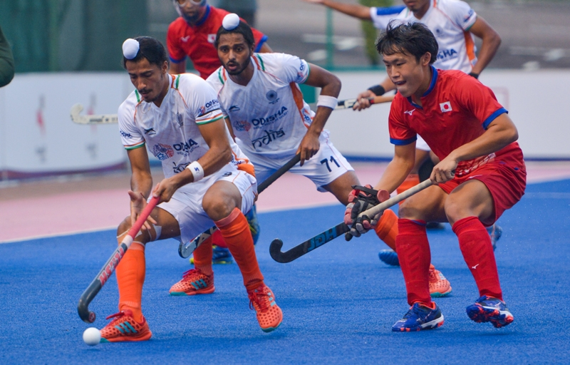 Indian Junior Men's Hockey Team lose to Japan 4-3 at the Sultan of Johor Cup