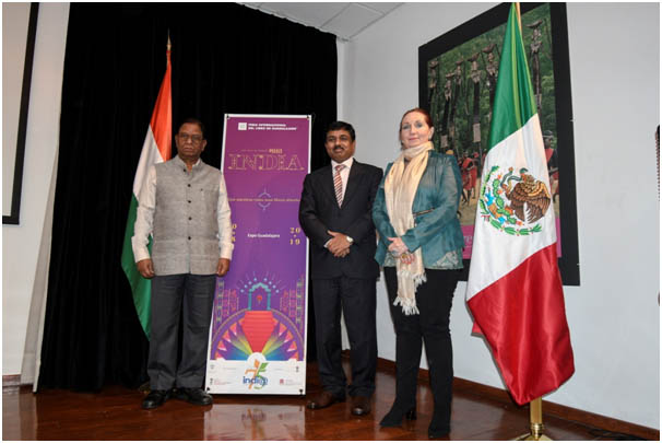 INDIA Designated as the GUEST OF HONOUR at the 33rd Guadalajara International Book Fair, Mexico
