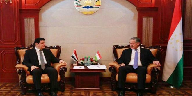 My country's support for Syria in its war on terrorism - Tajikistan Foreign Minister