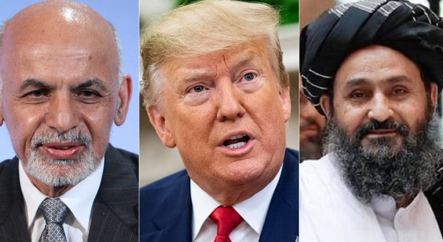 Having good discussions with both the Afghan government and Taliban - Trump
