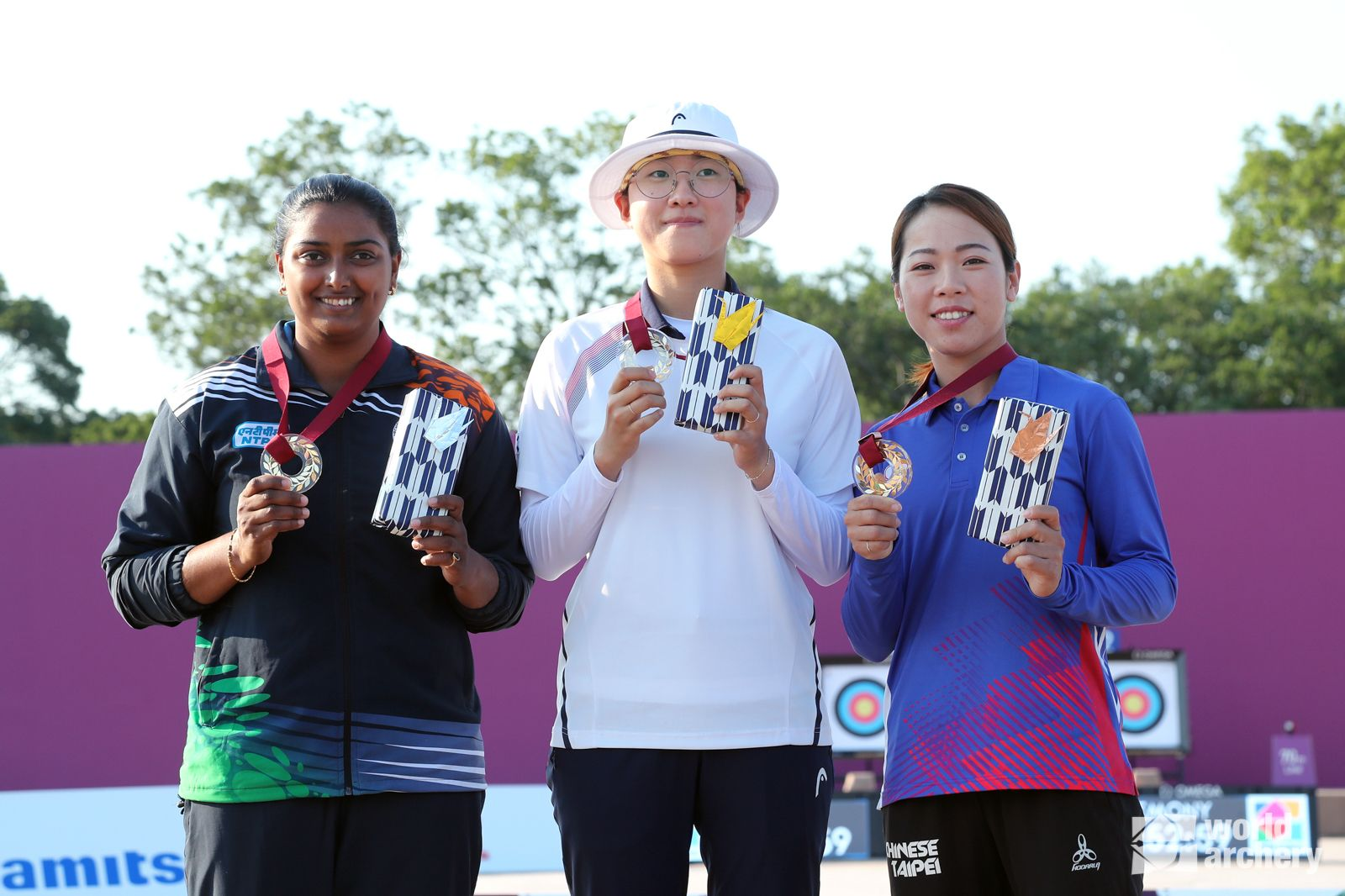 Korean An San beat Indian Deepika Kumari in Women's final at Tokyo 2020 Olympic Test Event