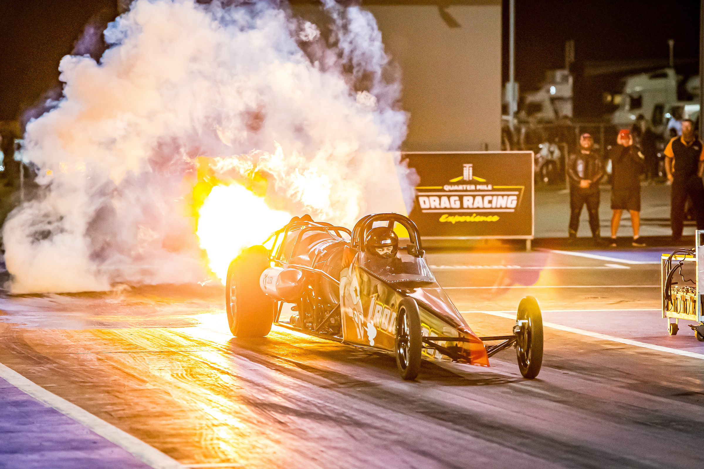 Jet car action ready to pop at motorplex