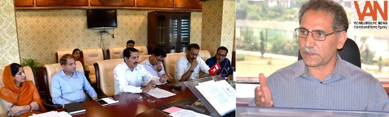 DDC Ganderbal reviews implementation of MSME in district
