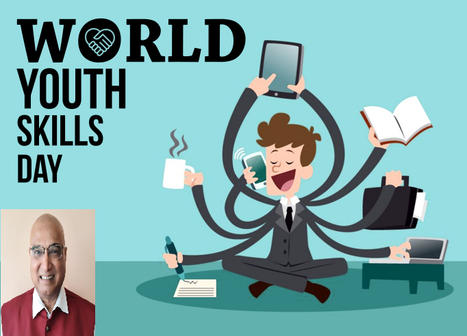 Introspection on Skill Development for Youth in India on World Youth Skill Day