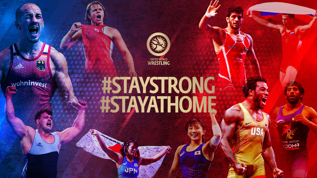 Stars of the Mat Encourage Wrestling Community to 'Stay Strong, Stay at Home'