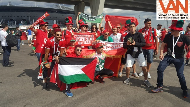 Support for Morocco at FIFA