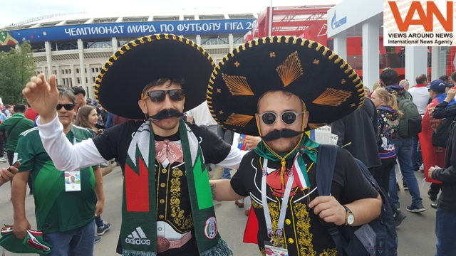 Football Fans are enjoying like celebrities in Rus
