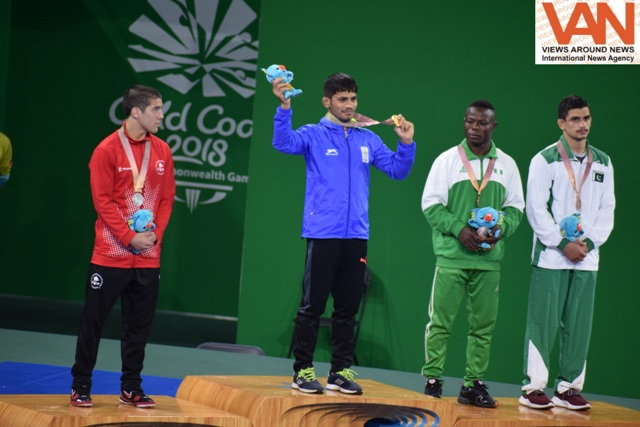 "Rahul Aware won ""GOLD"" in wrestling for India"