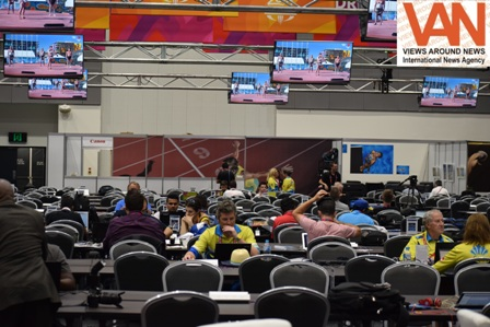 Media persons can access in Main Media Center of X