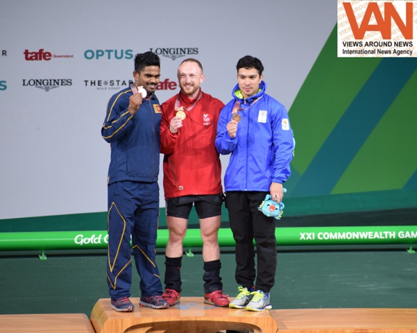 GC2018 - Deepak Lather won bronze in wrestling for