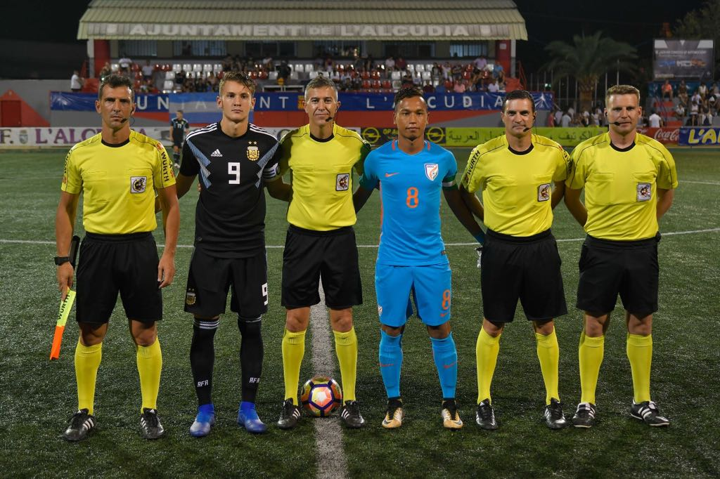 India U20 Football Team beat Argentina by 2-1 in C