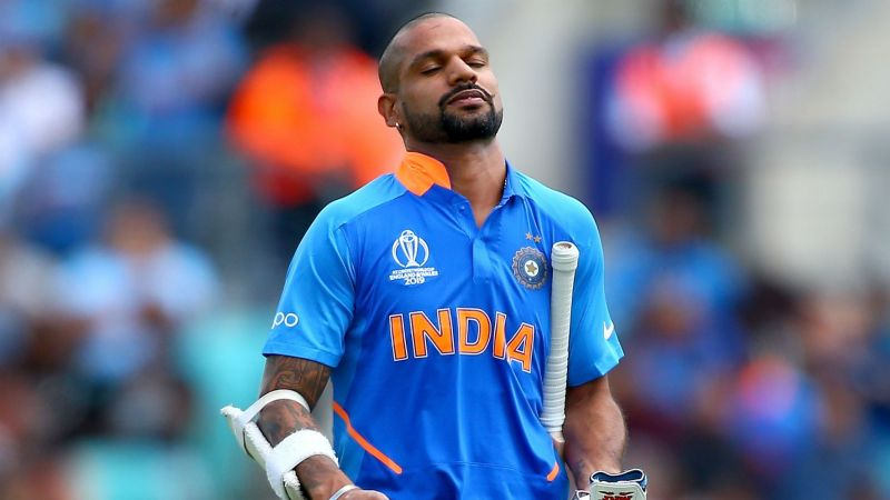 Shikhar Dhawan ruled out of the ICC World Cup 2019