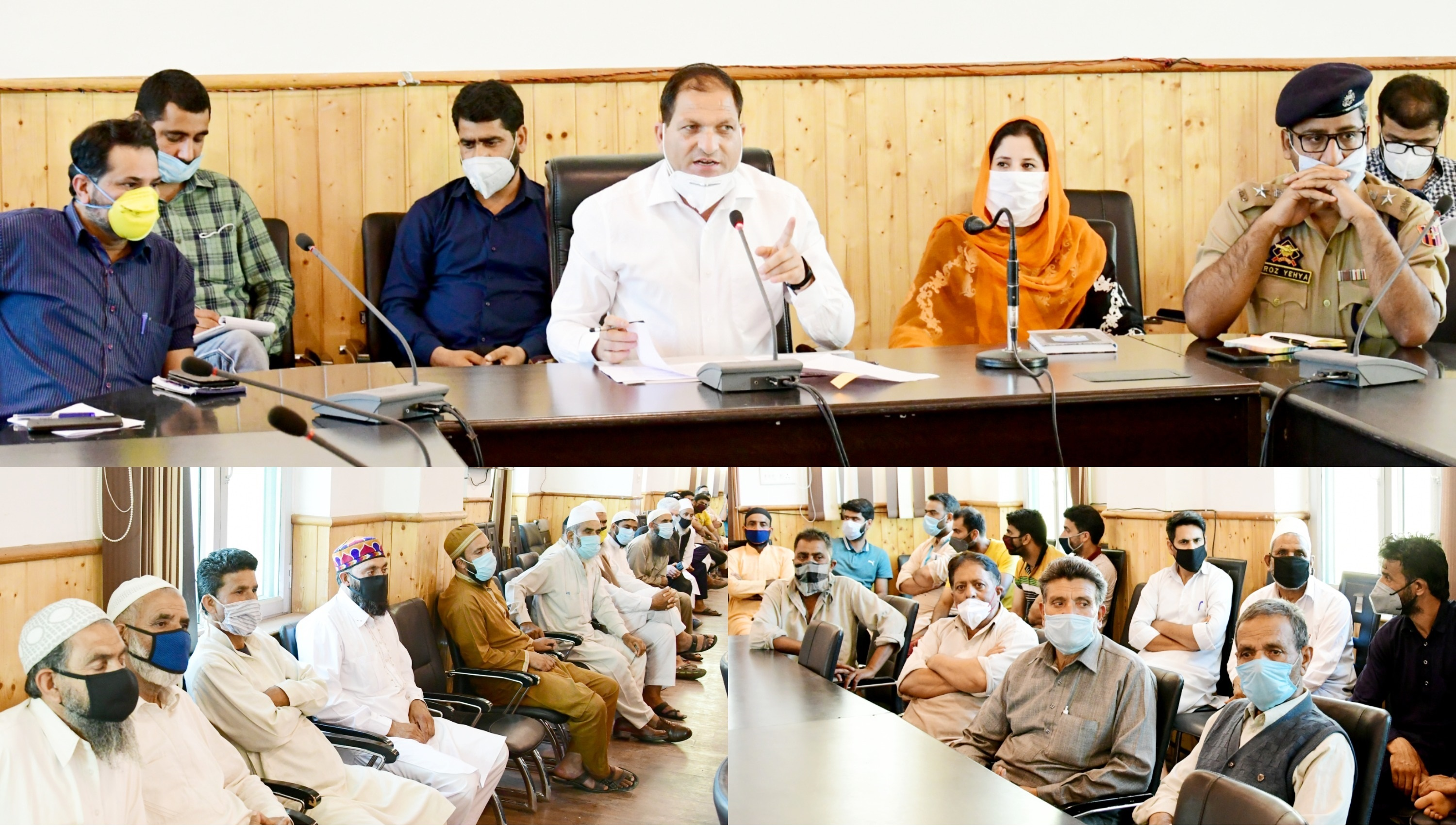 Eid-ul-Azha Arrangements reviewed in Ganderbal