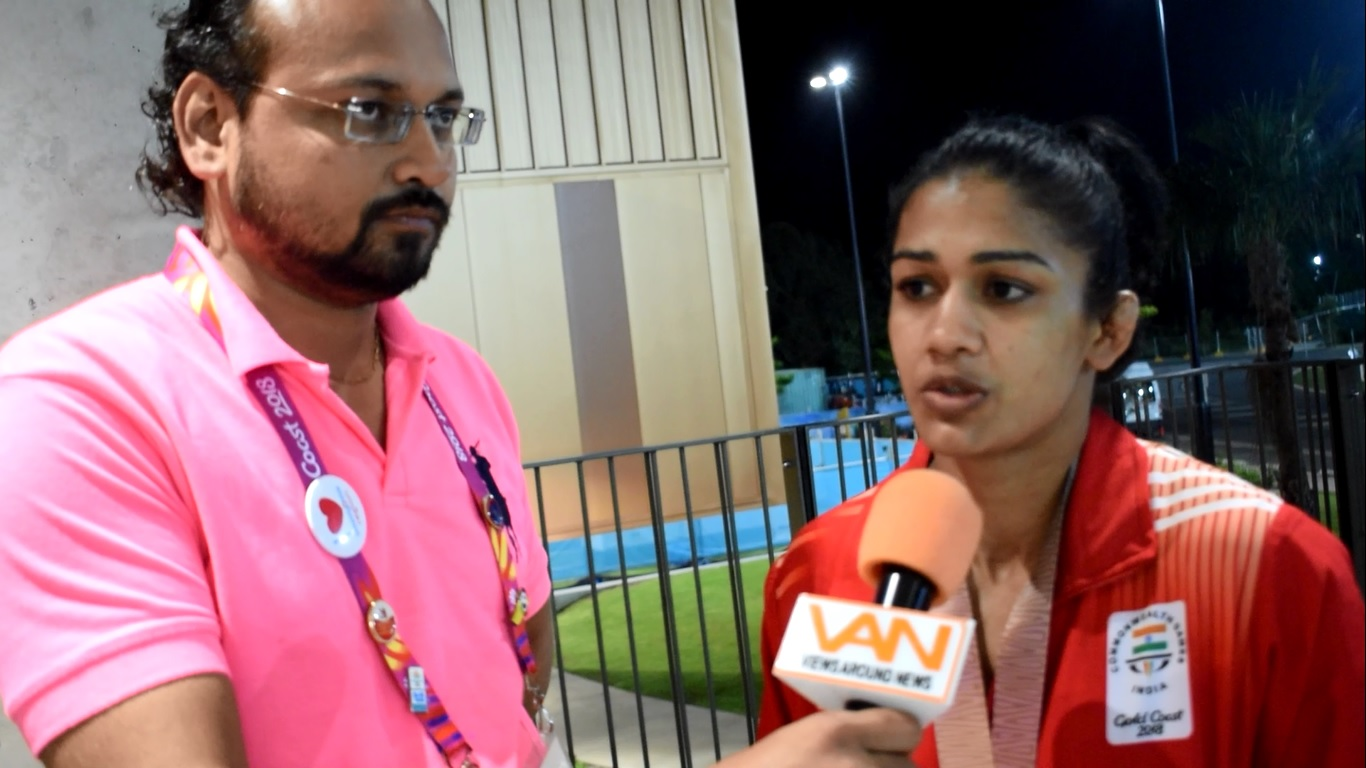 Haryana's girl Babita satisfied with Silver in the
