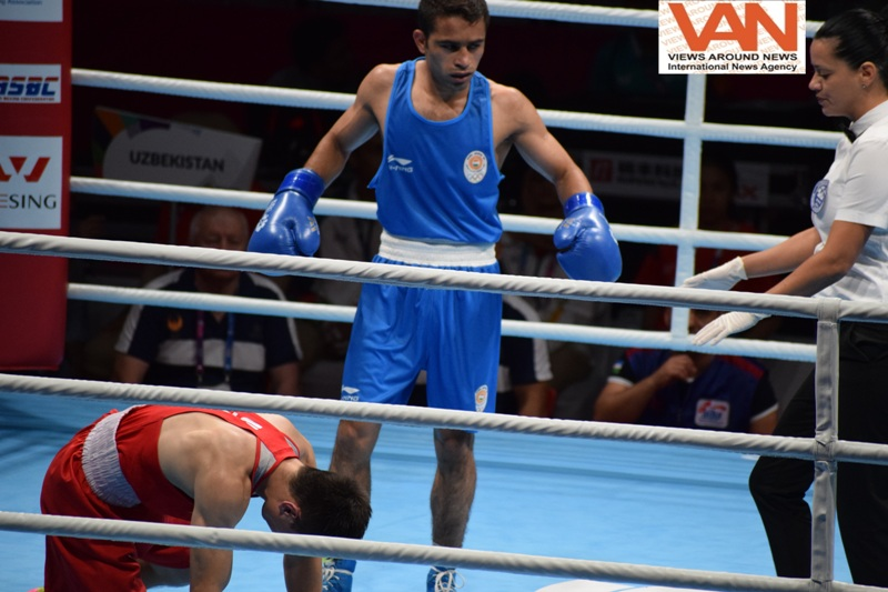 Amit; new Boxing champion of India in Asia