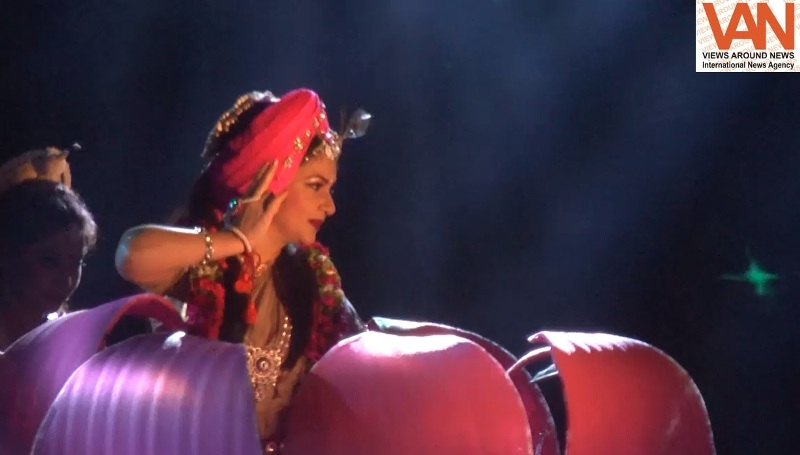 Bollywood fame Gracy Singh performed Radhe's role