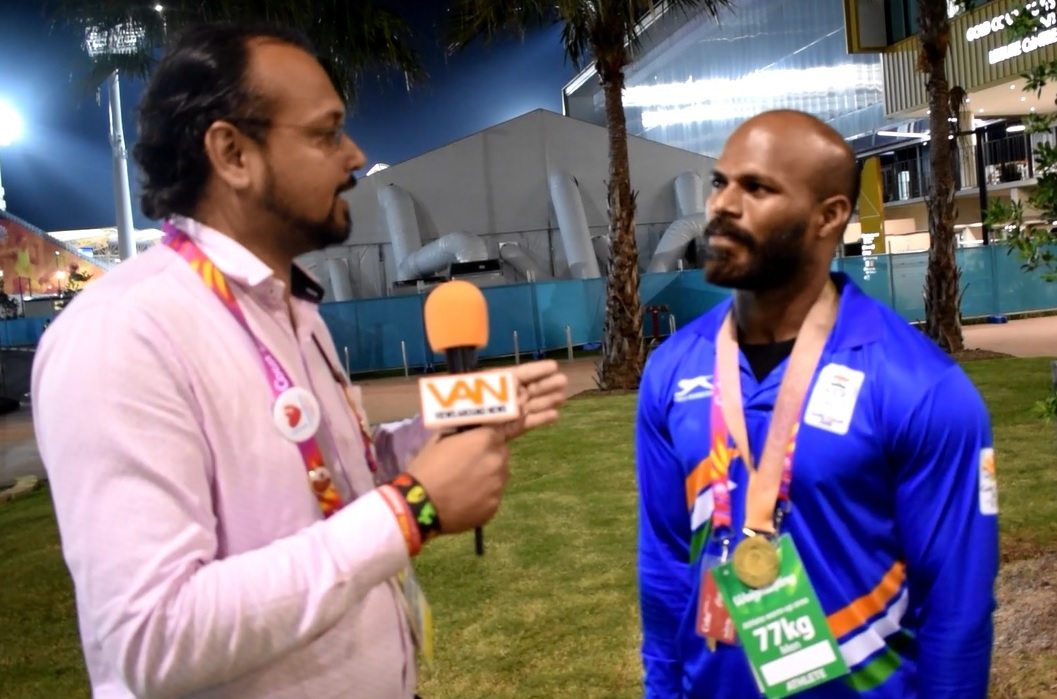 Third day, Third Gold Medal for India by Satish Ku