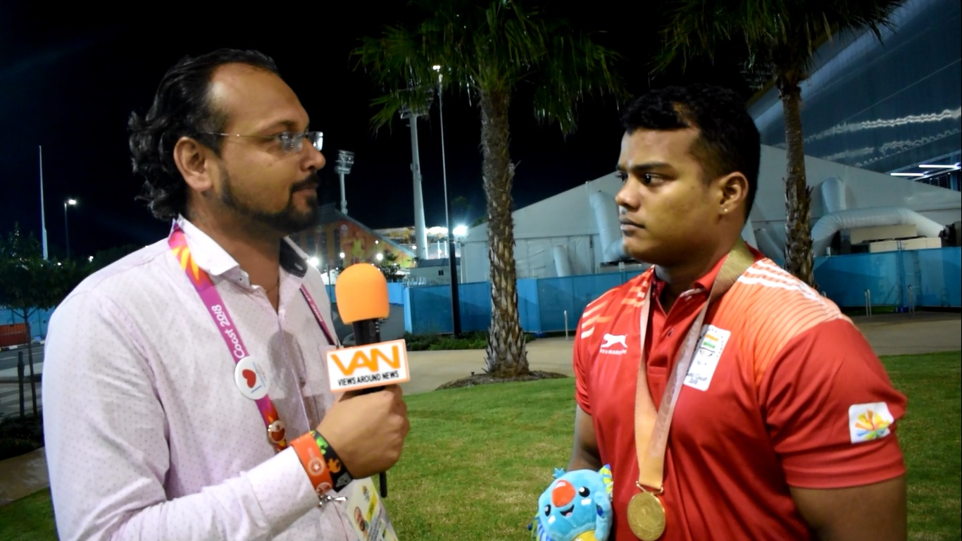 6th medal for India in weightlifting, Gold by Venk
