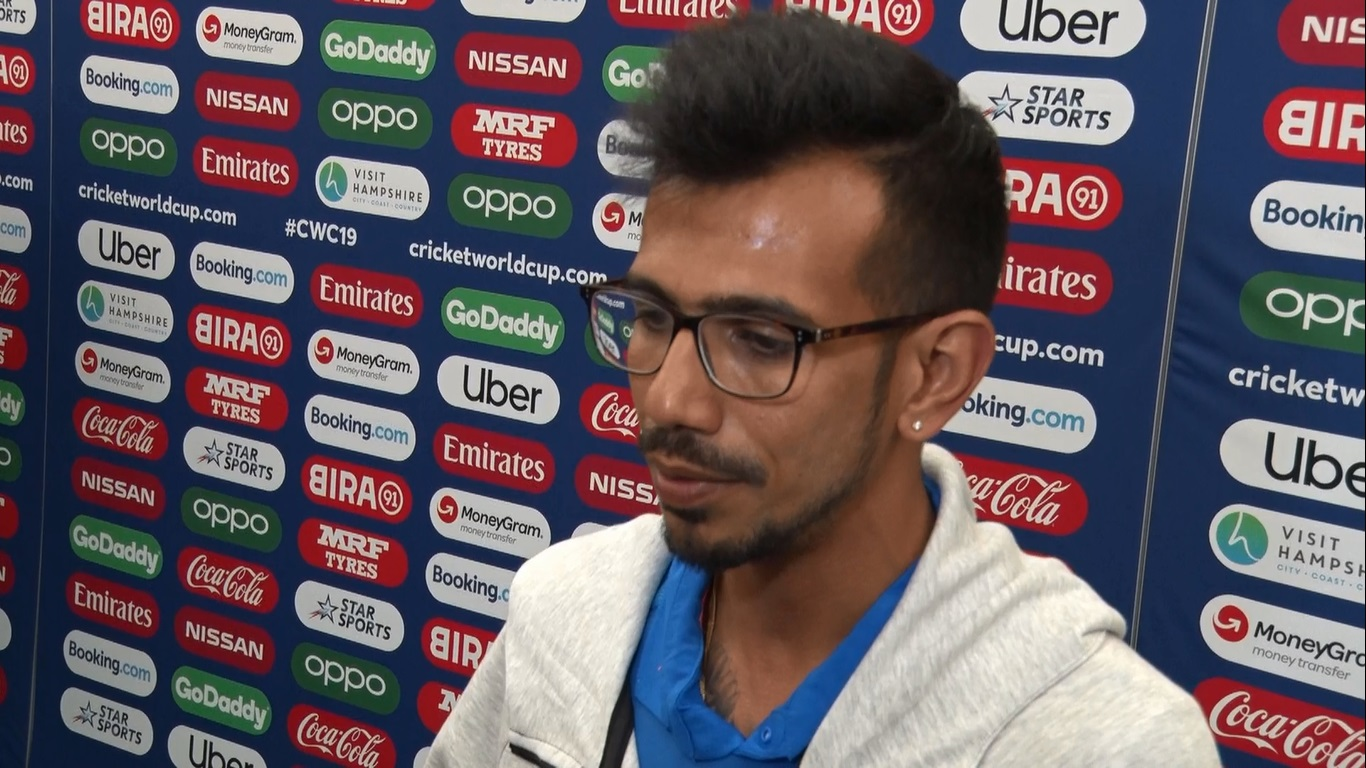 Yuzvendra Chahal is happy after his performance in